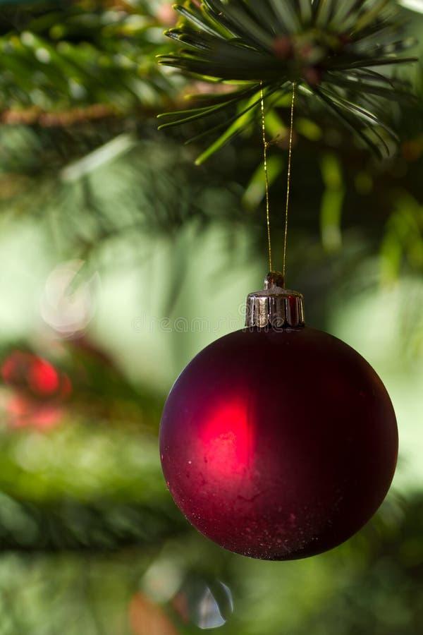 球球圣诞节装饰品xmas 免版税库存图片