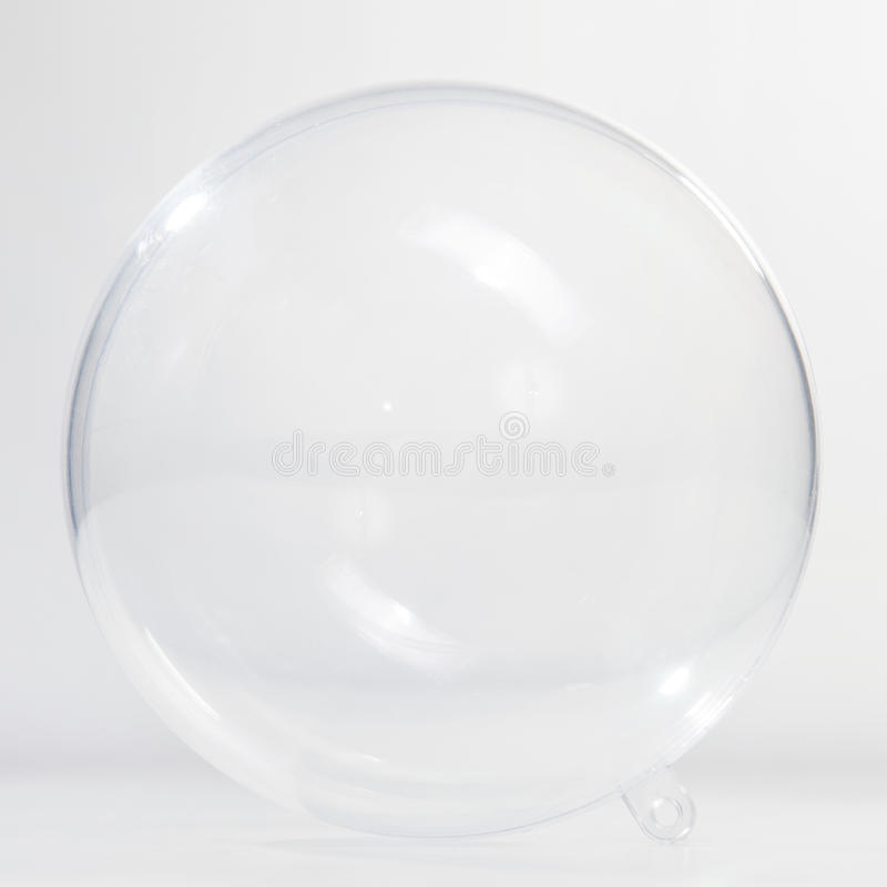 球空的玻璃 库存图片