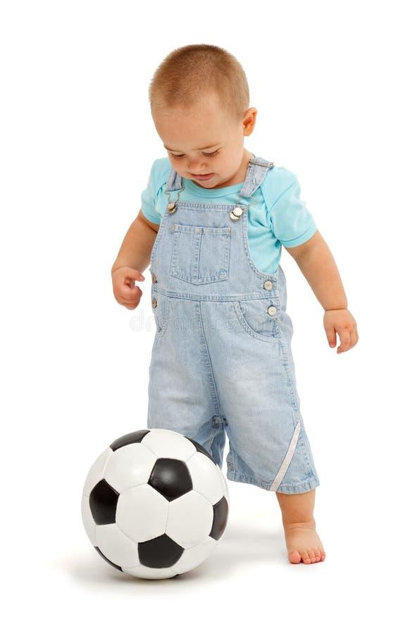 球童橄榄球一点 免版税库存照片