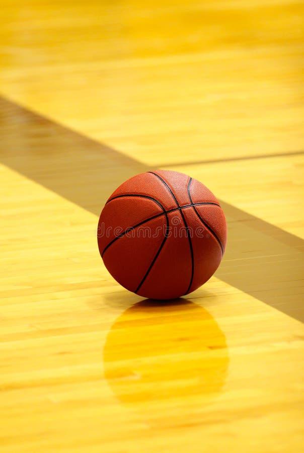 球篮子现场 免版税库存照片