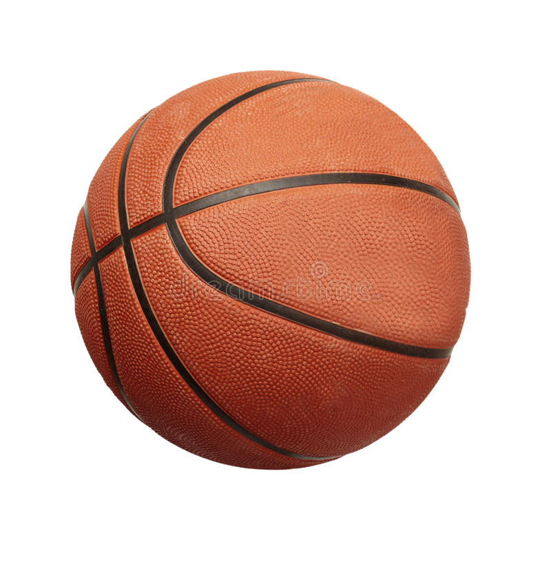 球篮球重新创建体育运动 免版税库存照片
