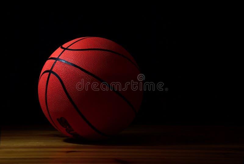 球篮球 免版税库存图片