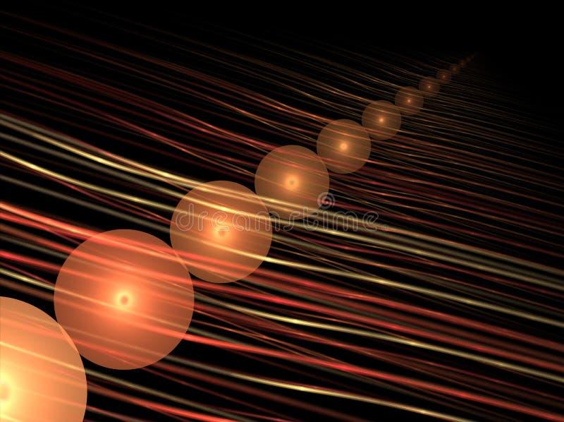 球线路 向量例证