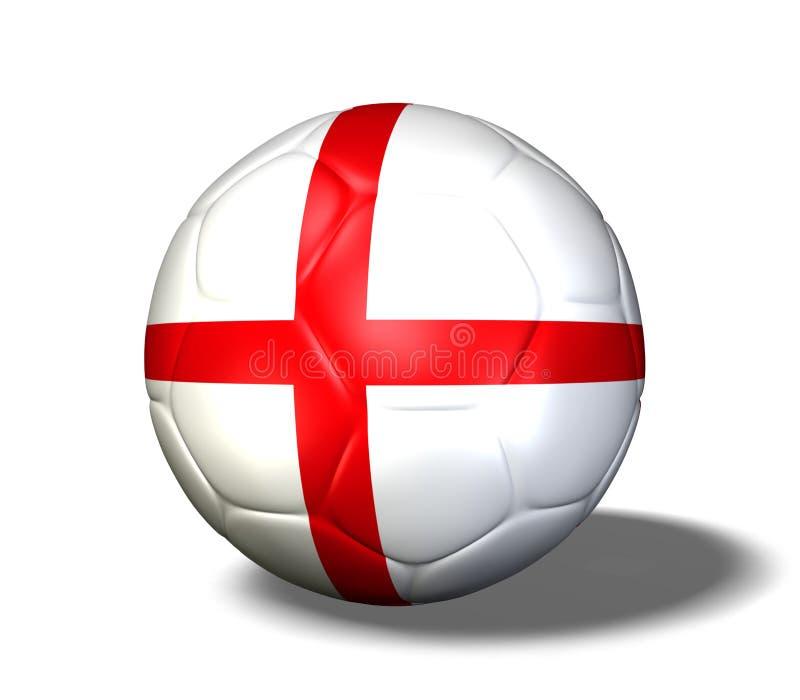 球英国足球 皇族释放例证