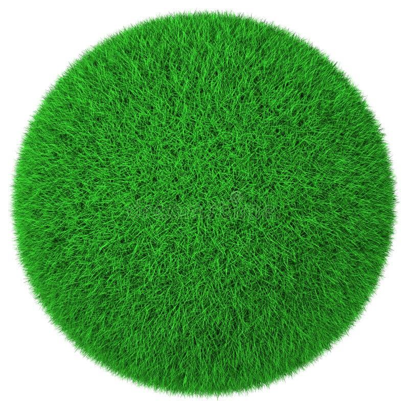 球草绿色查出做 库存例证