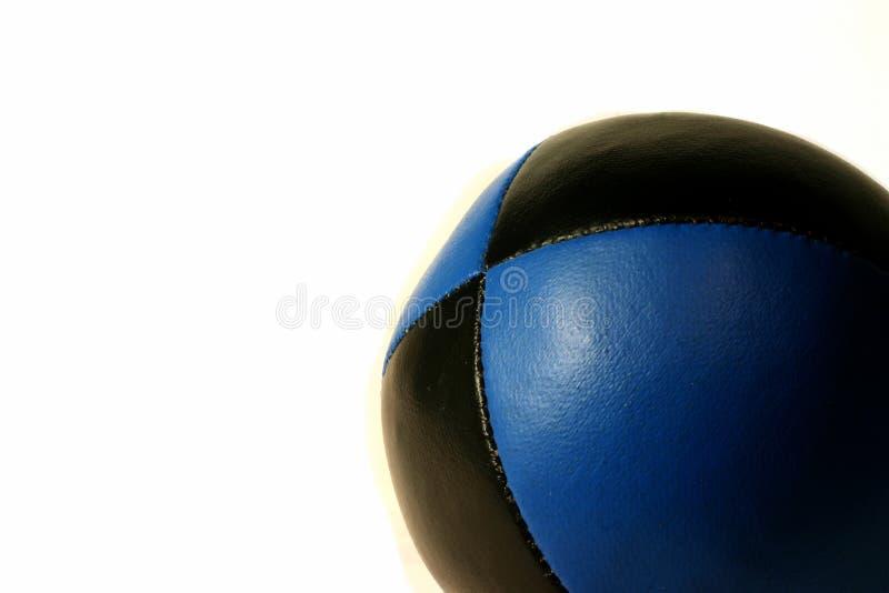 球蓝色玩杂耍 免版税库存照片
