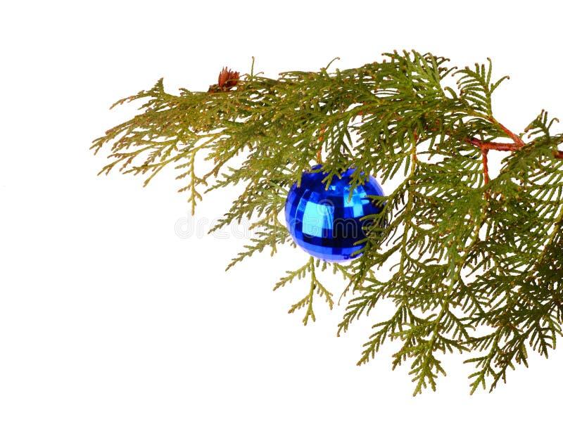 球蓝色玻璃 库存图片