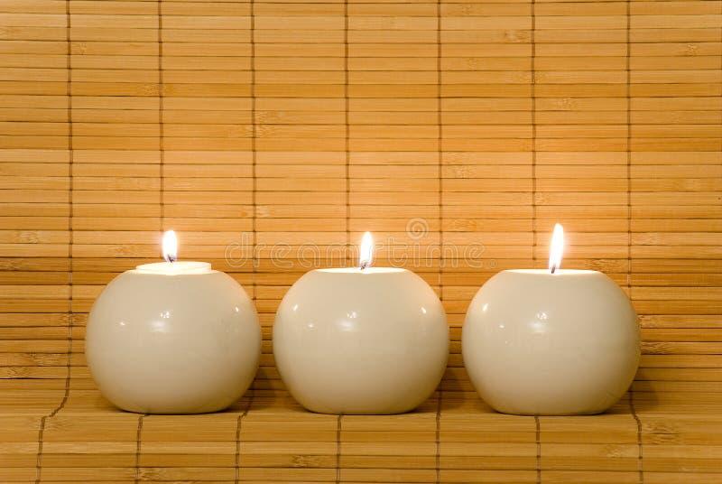 球蜡烛 免版税库存图片