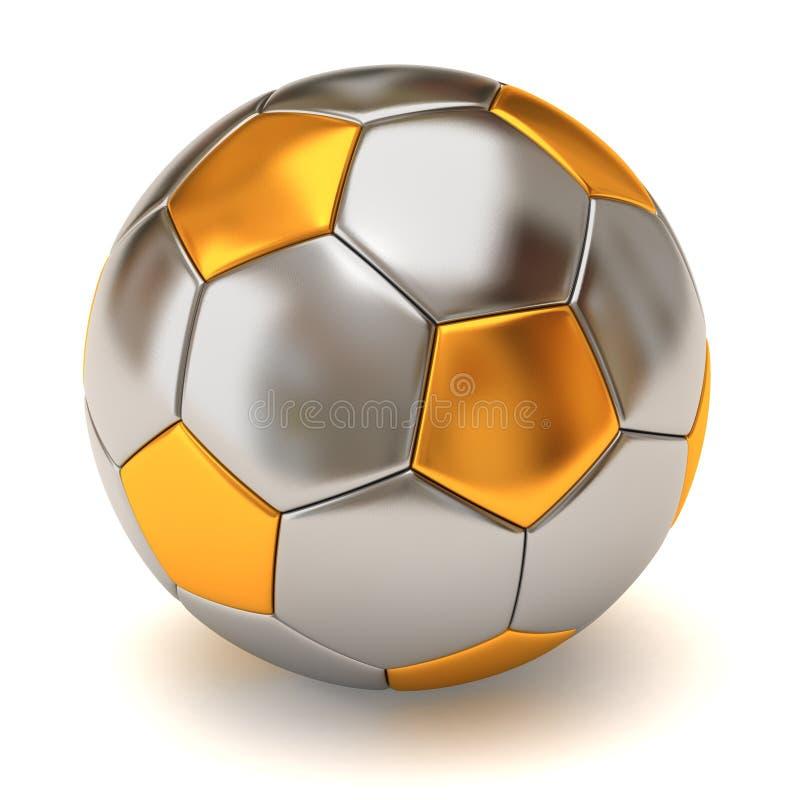 球足球 向量例证