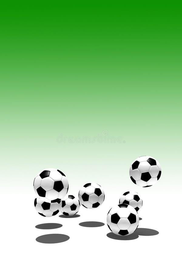 Download 球足球 库存例证. 插画 包括有 反撞力, 竹子, 目标, 休闲, 评分, 绿色, 同盟, 皮革, 重新创建 - 3660162