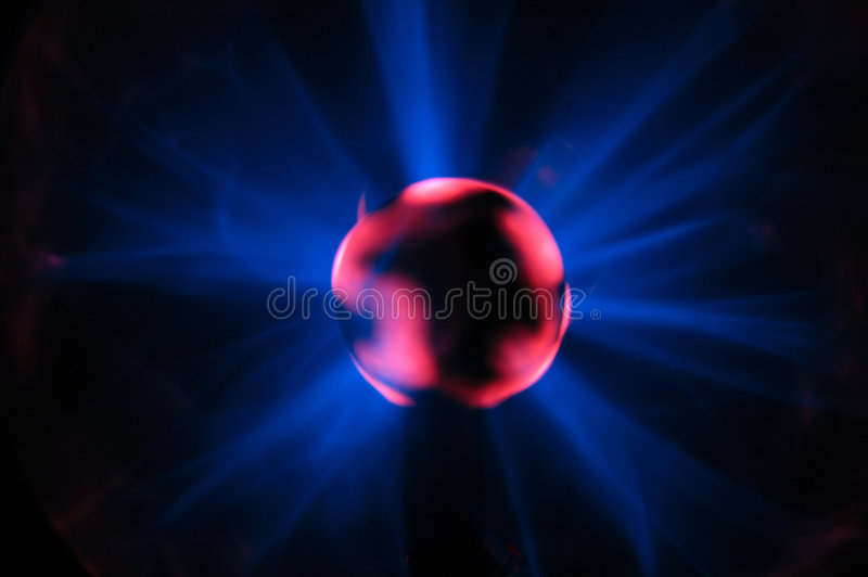 球闪电 库存照片