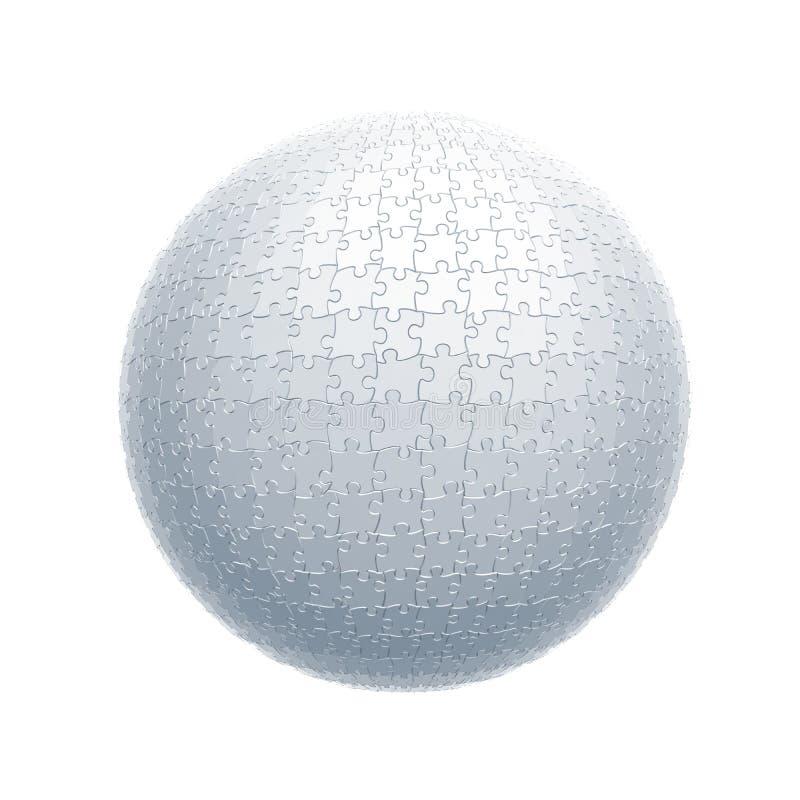 球难题 向量例证