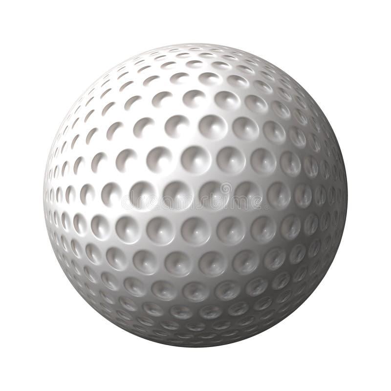 球高尔夫球 皇族释放例证