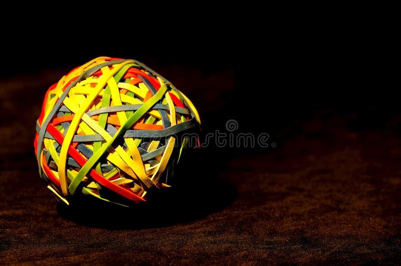 球rubberband 图库摄影