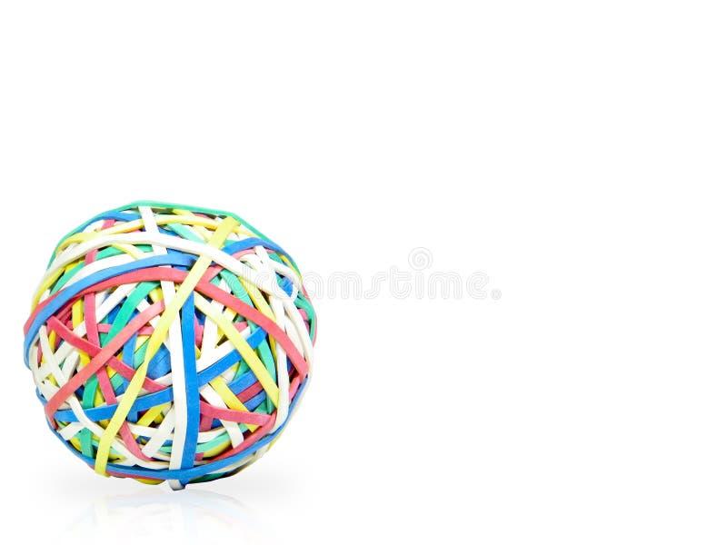 球rubberbands 图库摄影