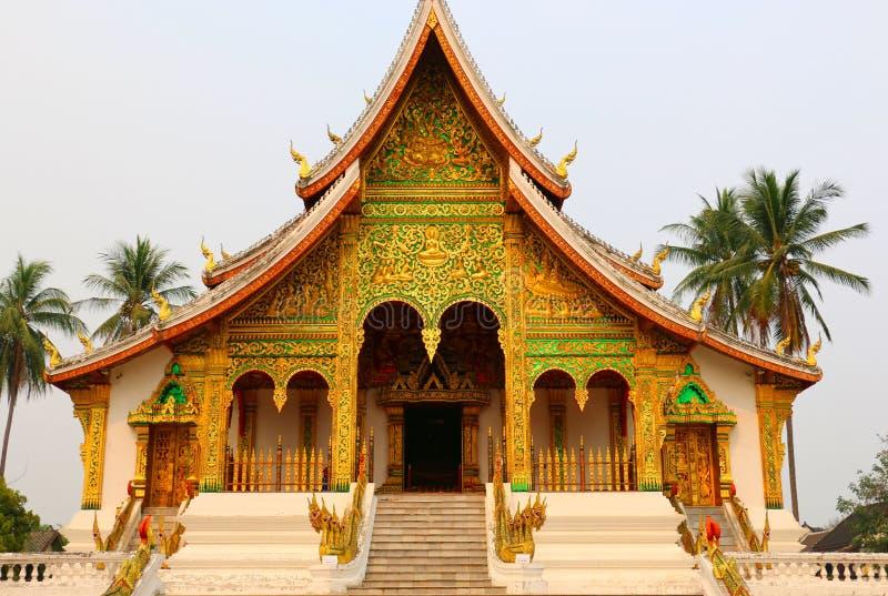 琅勃拉邦,老挝王宫  免版税库存图片