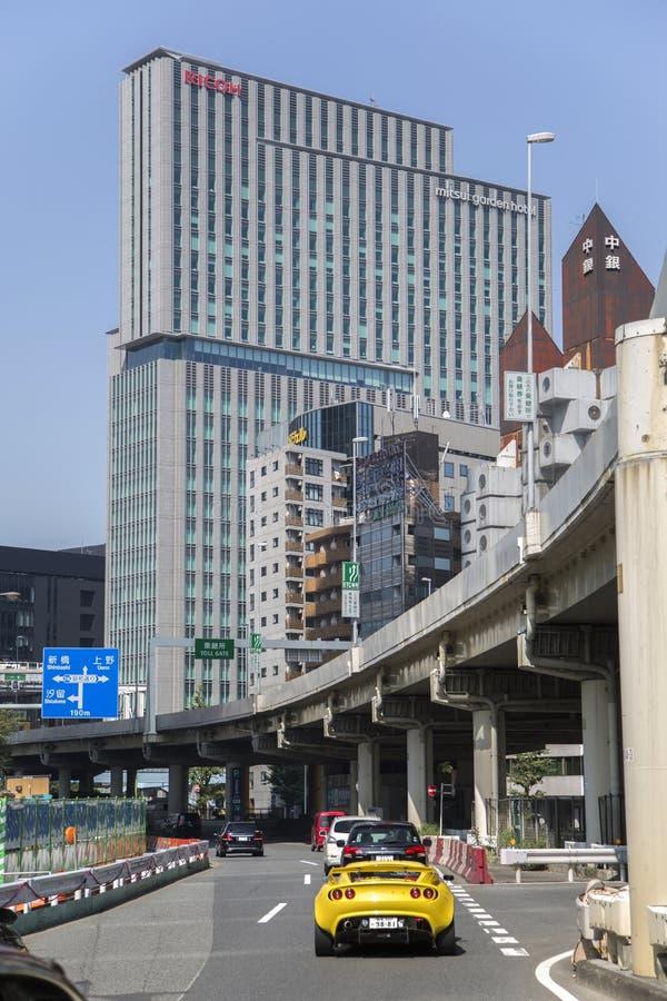 理光大厦在东京,日本 免版税库存照片