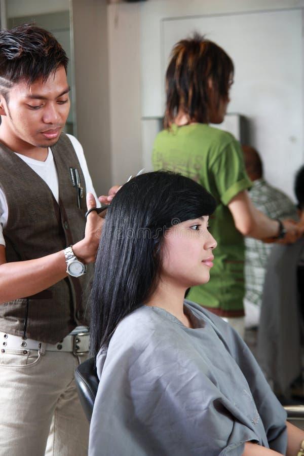 理发发型 免版税图库摄影