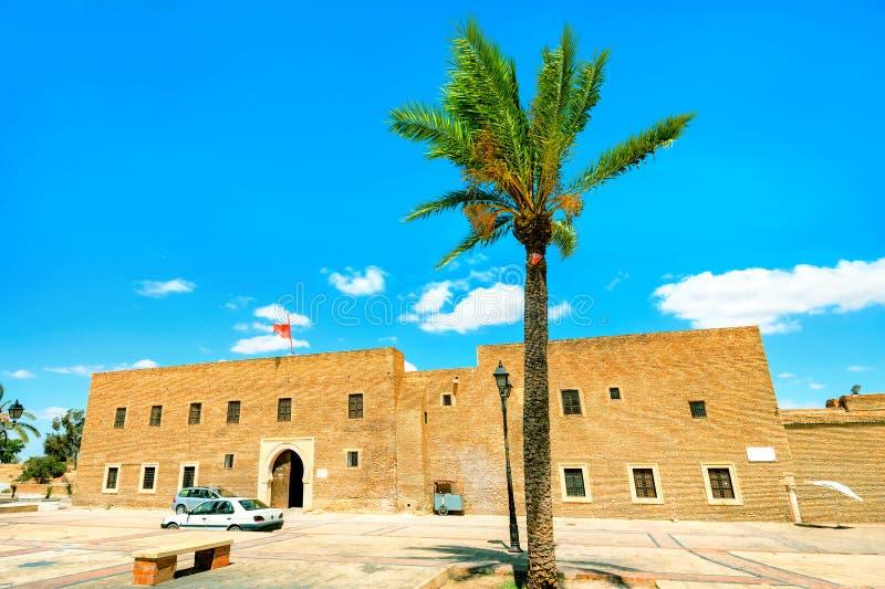 理发师的清真寺德西迪萨哈布陵墓在凯鲁万 突尼斯,北非 库存图片