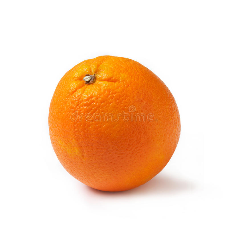 理想新鲜的桔子 免版税库存照片