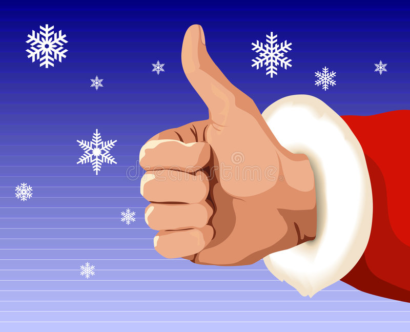 理想的圣诞节 免版税库存图片