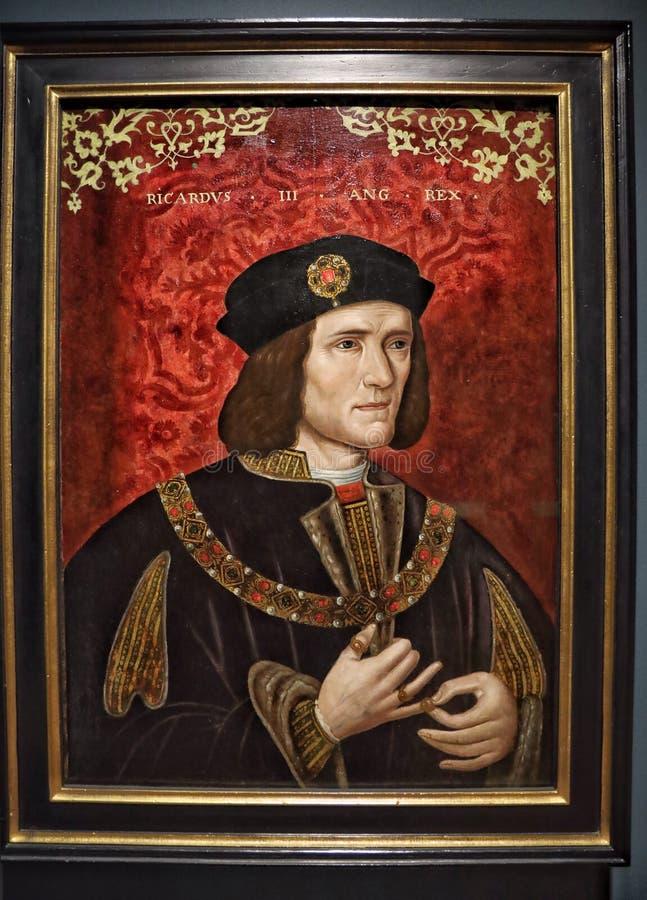 理查三世国王画象  免版税库存图片