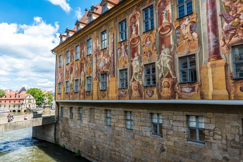 琥珀-历史城市在德国 免版税库存图片