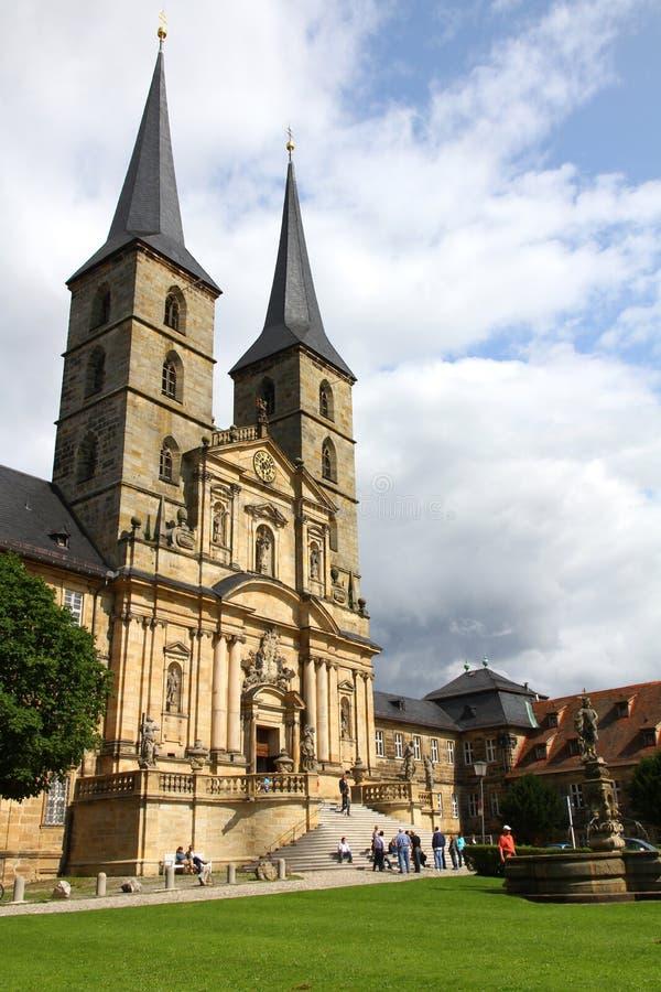 琥珀michaelsberg修道院 库存图片