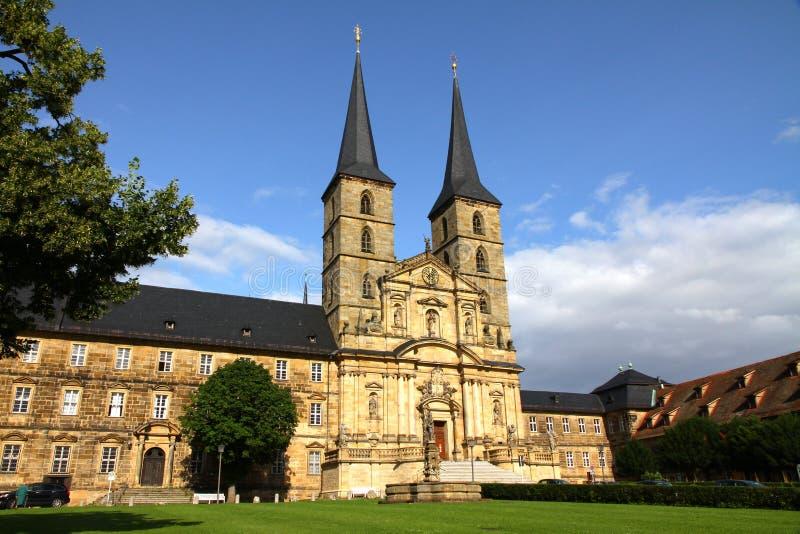 琥珀michaelsberg修道院 免版税图库摄影