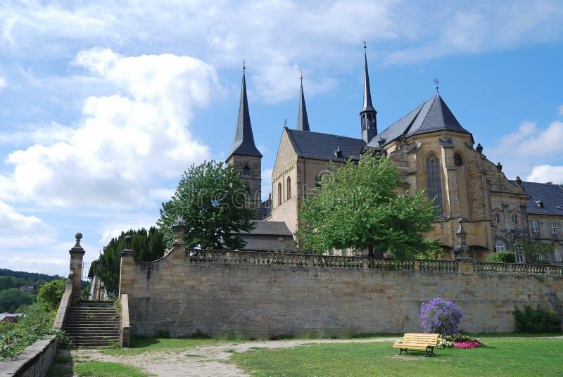 琥珀michaelsberg修道院 免版税库存图片