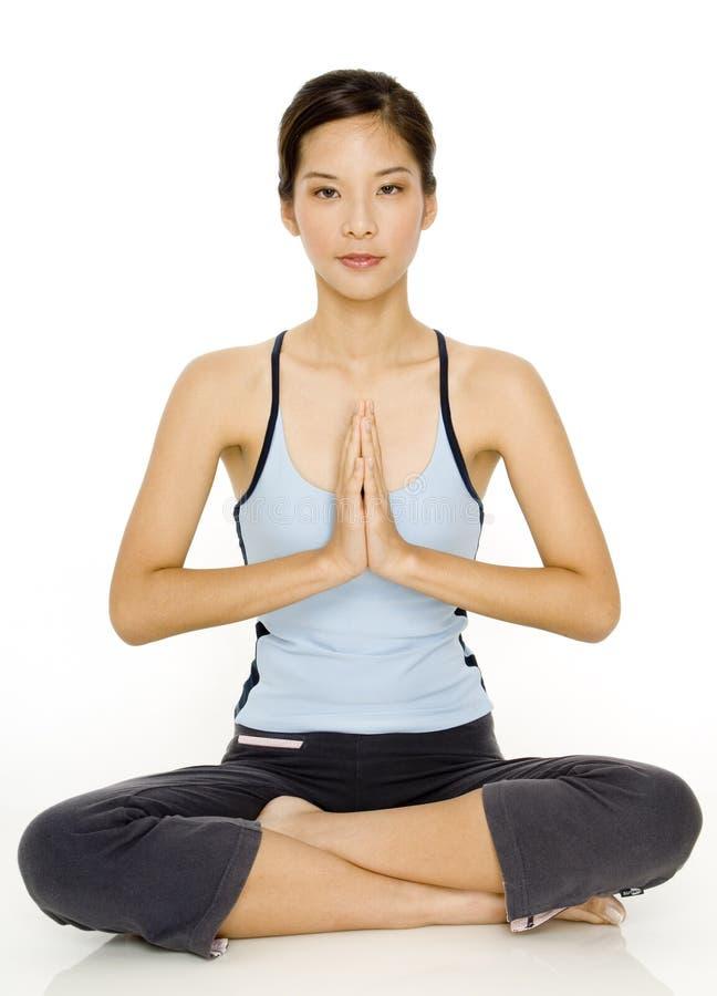瑜伽姿势 库存照片