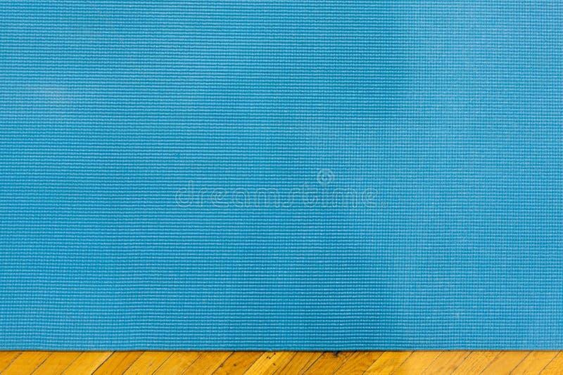 瑜伽席子材料 免版税图库摄影