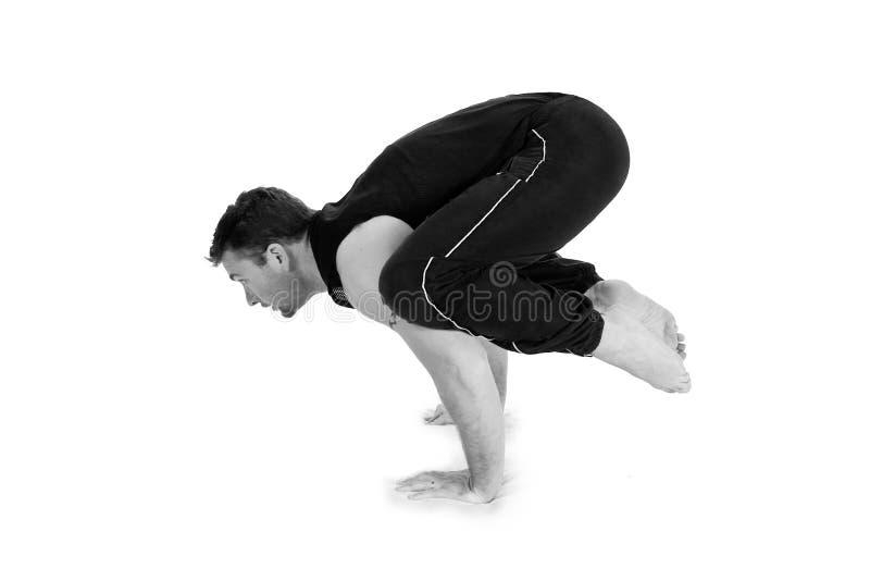 瑜伽系列 库存图片