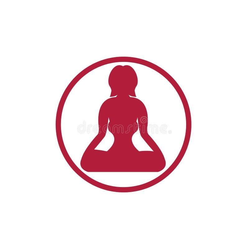 瑜伽象 库存照片