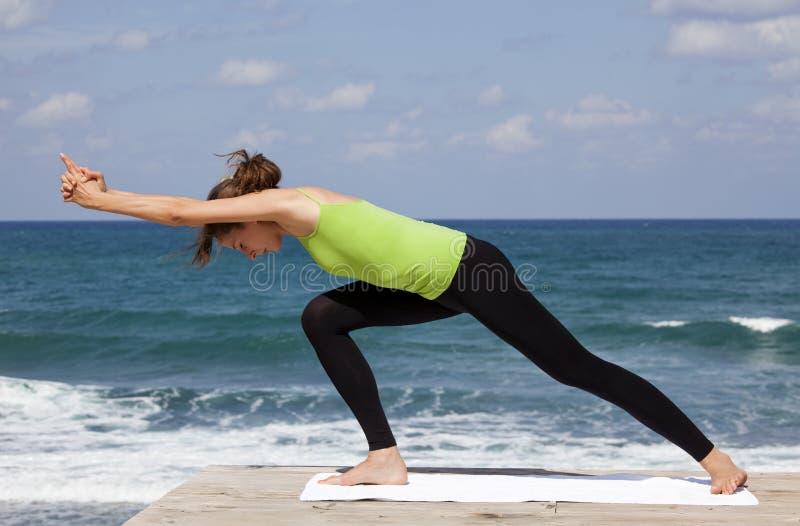 瑜伽 免版税图库摄影