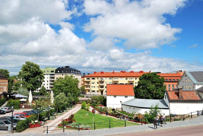 瑞典乌普萨拉 库存图片