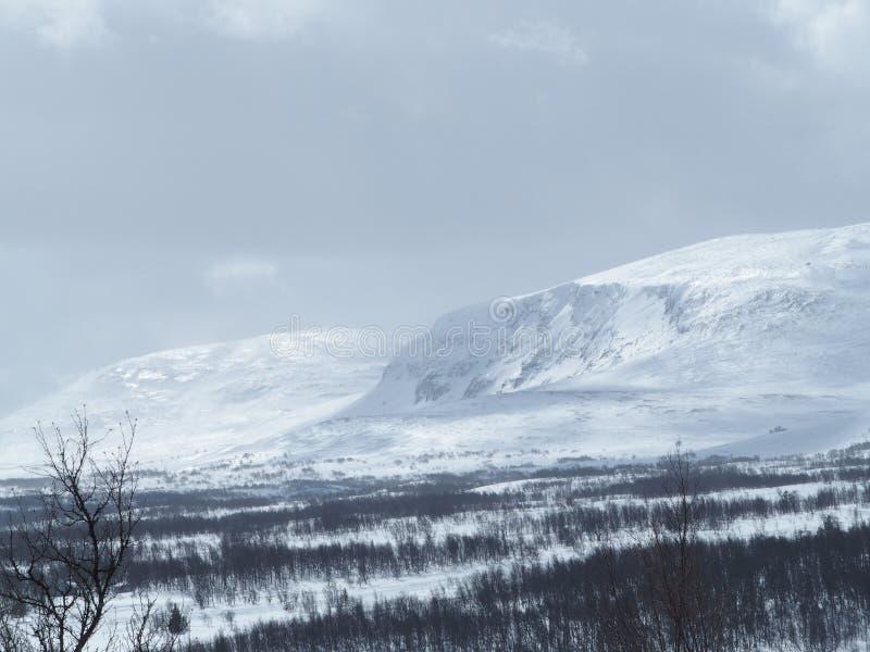 瑞典山 免版税库存照片