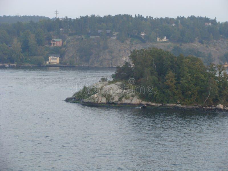 瑞典岩石 库存图片