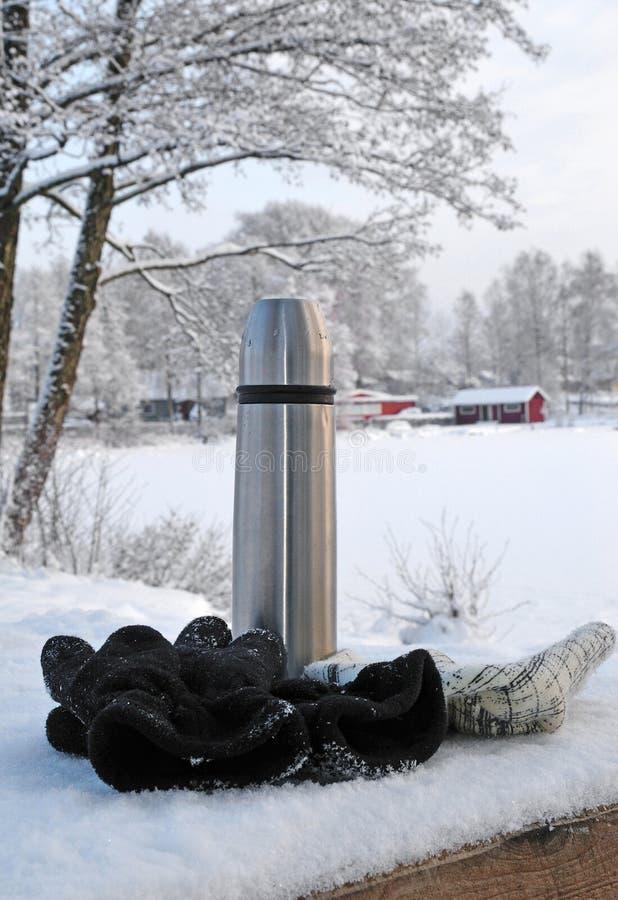 瑞典时间冬天 免版税图库摄影