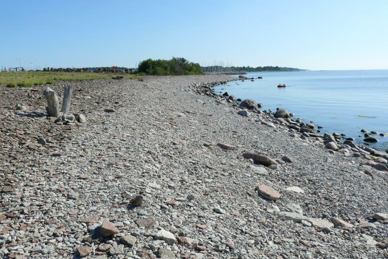 瑞典的典型的风景 免版税库存照片