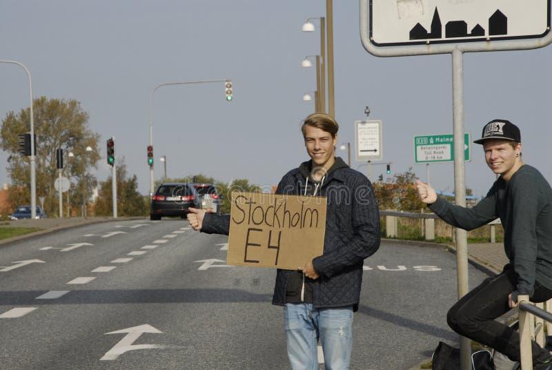瑞典短篇广告 图库摄影