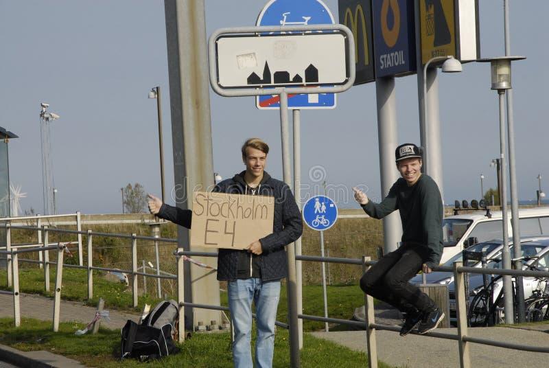 瑞典短篇广告 库存图片