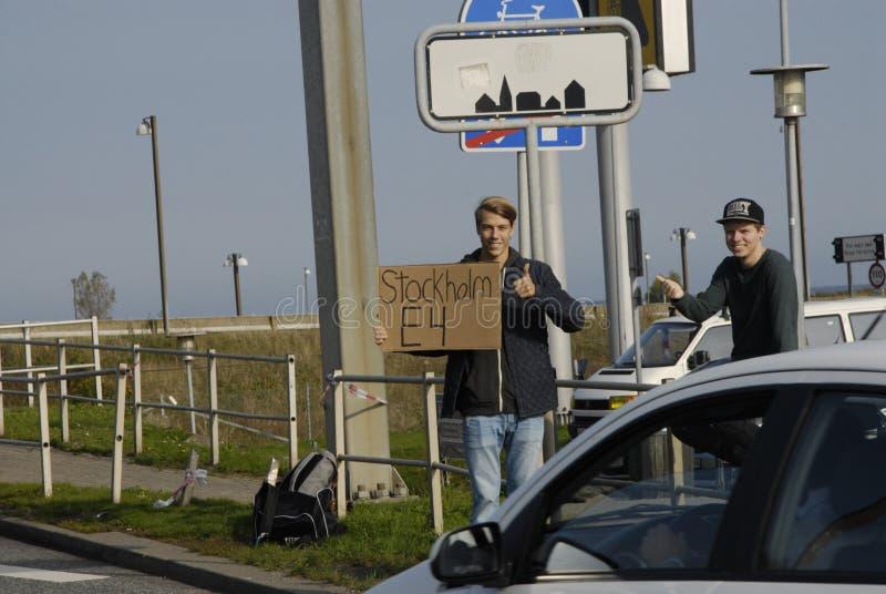 瑞典短篇广告 免版税库存照片