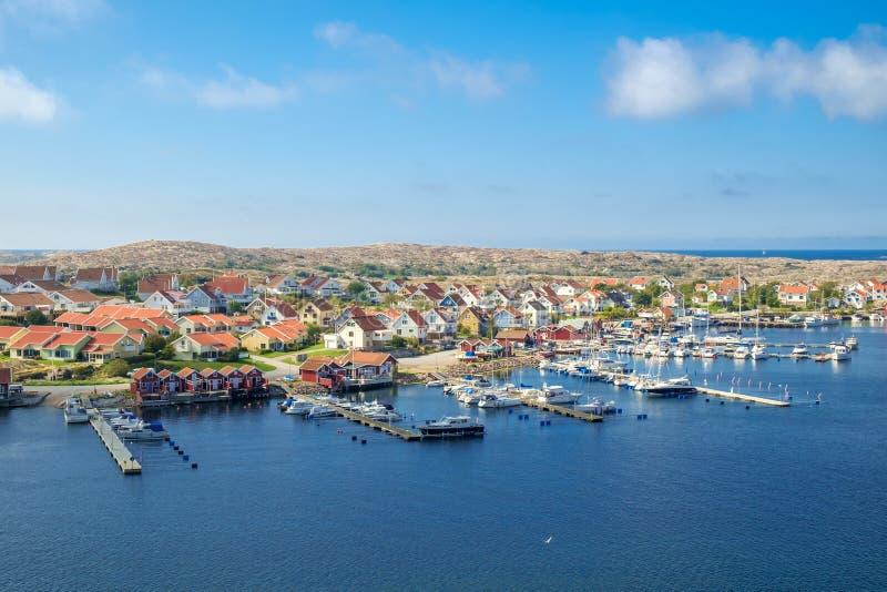 瑞典西海岸 免版税库存图片