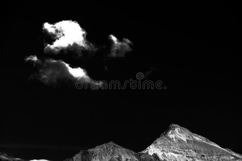瑞士山 免版税库存图片