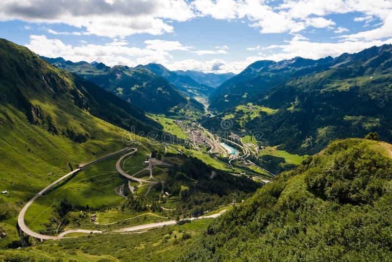 瑞士视图 库存图片