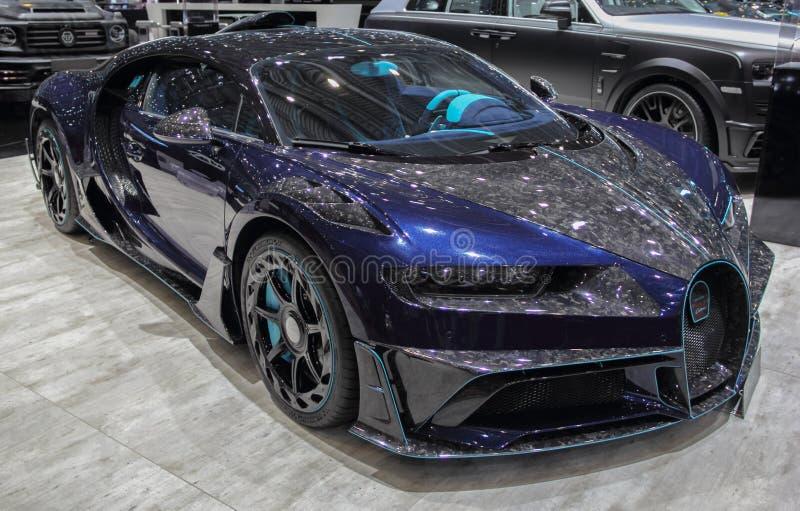 瑞士;日内瓦;2019年3月9日;Mansory百人队队长;第89个国际汽车展示会在从第7的日内瓦到第17 2019年3月 免版税库存照片