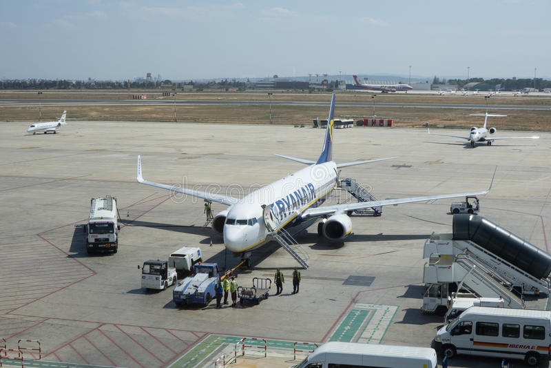 瑞安航空公司 库存图片