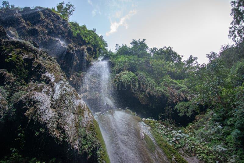 瑞诗喀什市瀑布 库存图片