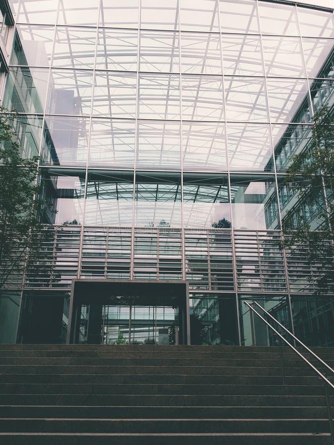 玻璃办公室 库存图片
